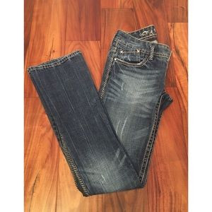 Express Barely Boot Sz 0R- excellent condition!